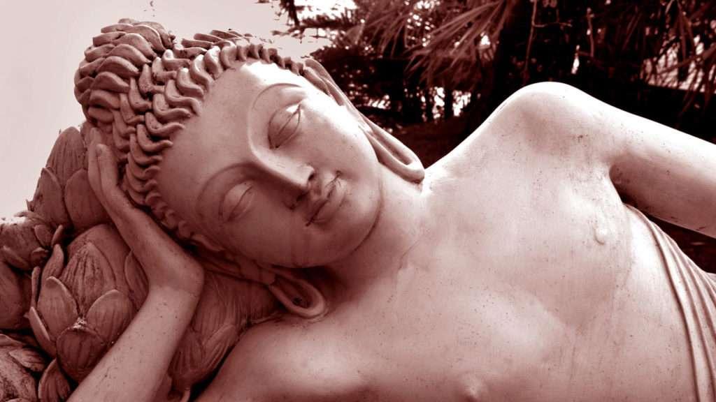 Annette Bauer, Yogannetteblog.de, Liegender Buddha