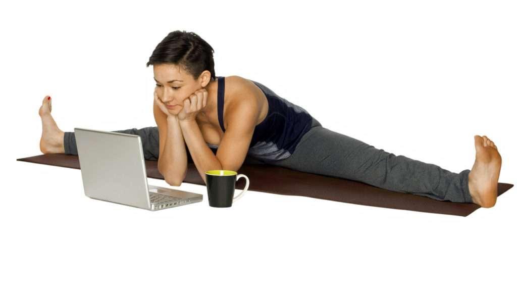 Annette Bauer, Yogannetteblog.de, Laptop, Yogini