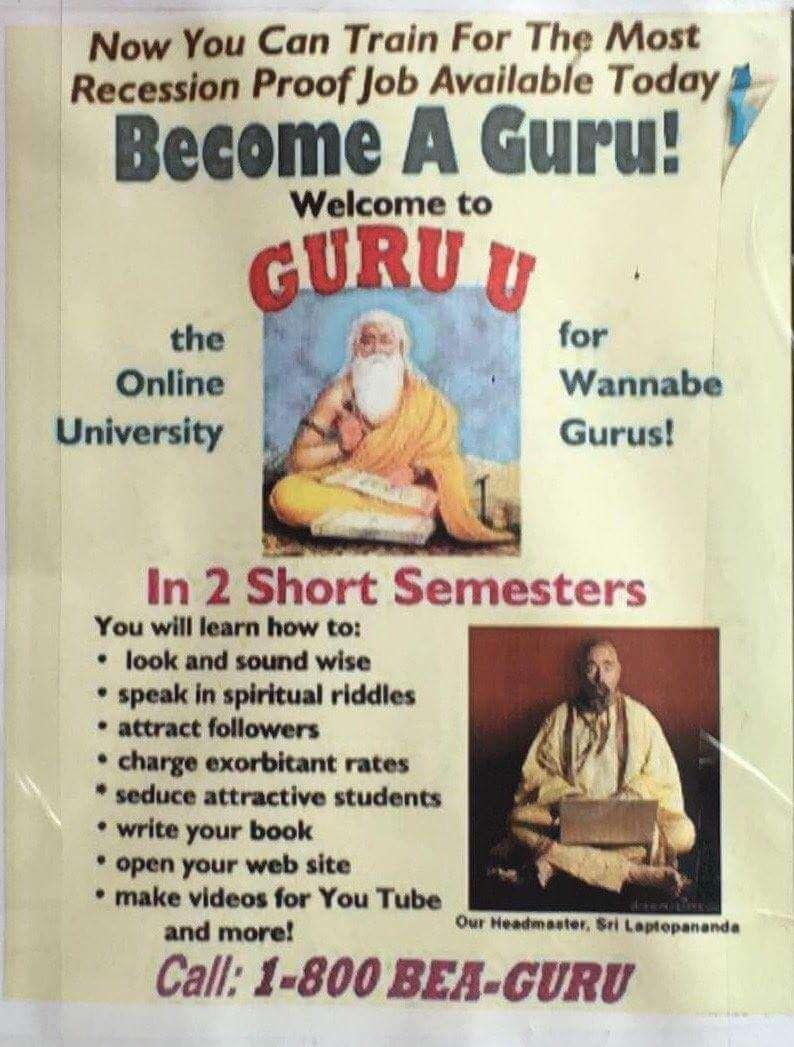 """""""Become a guru"""" So bitte nicht!"""