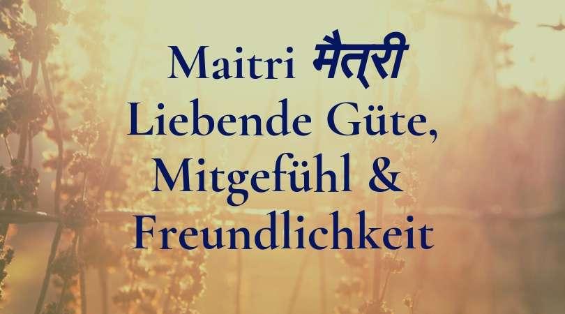 Maitri Mitgefühl © Annette Bauer