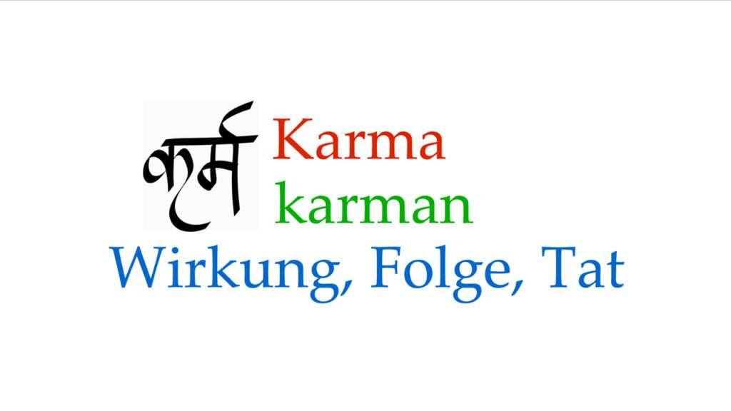 Karma © Annette Bauer yoga-xperience.de