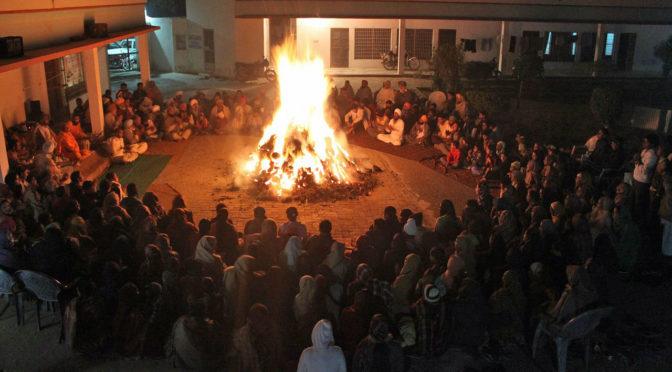 Feuerritual Agnihotra