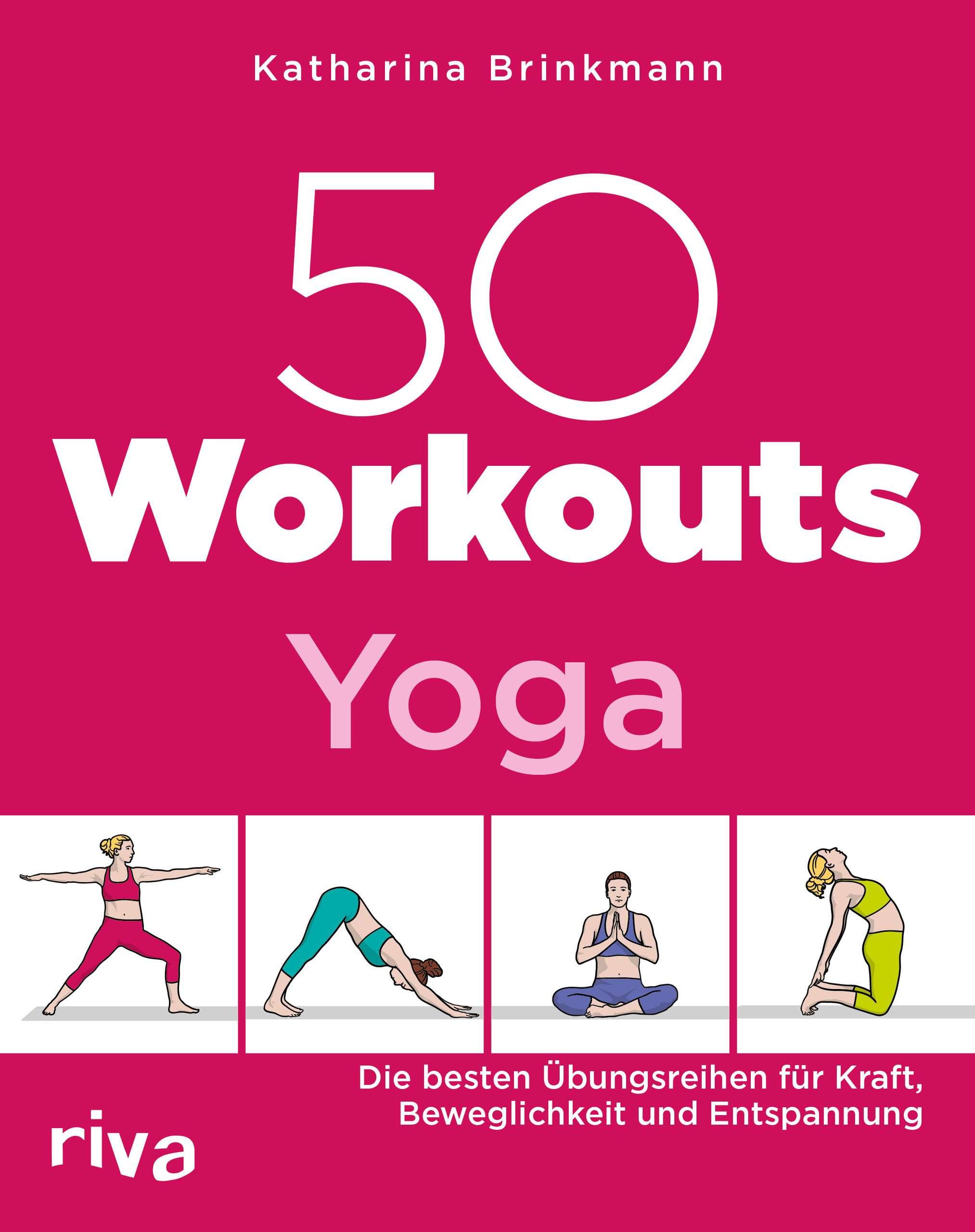 """50 Workouts Yoga"" von Katharina Brinkmann © riva"