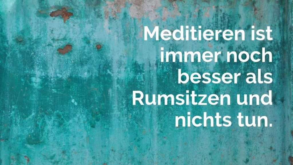 So-Ham Meditation Meditieren besser als Nichtstun © Annette Bauer Yogannetteblog.de