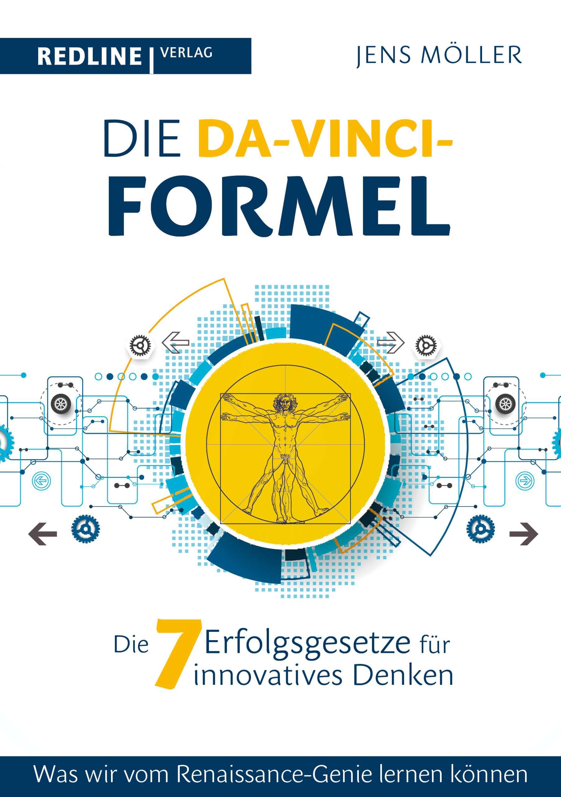 """Die Da-Vinci-Formel"" von Jens Möller © redline verlag Yogannetteblog.de"