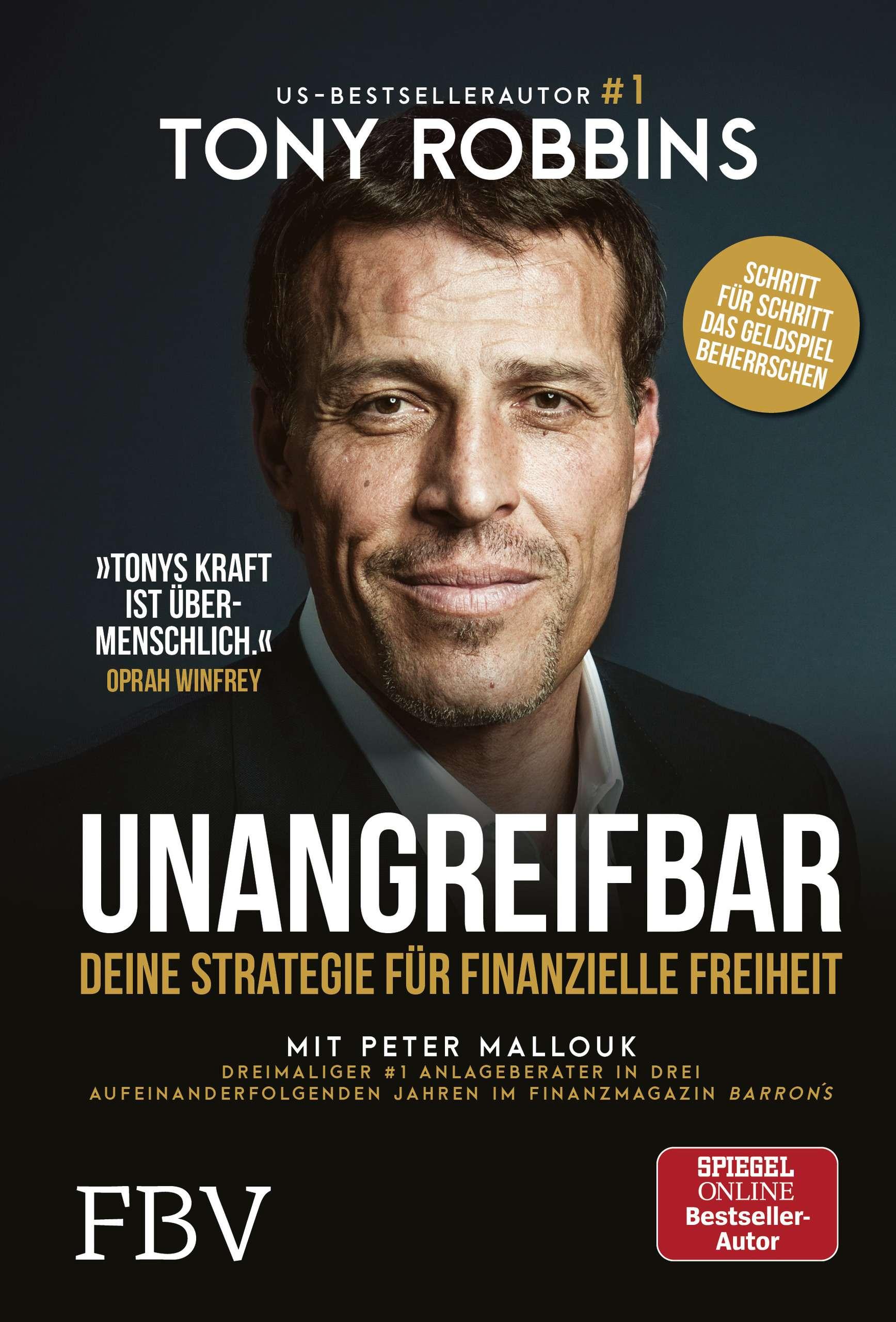 """Unangreifbar"" von Tony Robbins & Peter Mallouk © FVB Yogannetteblog.de"