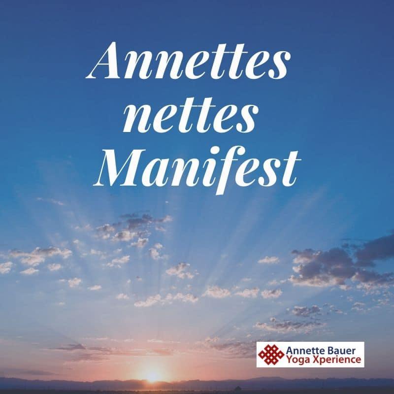 Annettes Manifest