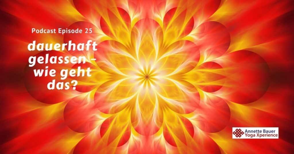 Podcast 25 Wurzelchakra